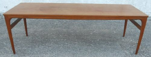 1960's Retro Teak Long Coffee Table - SOLD